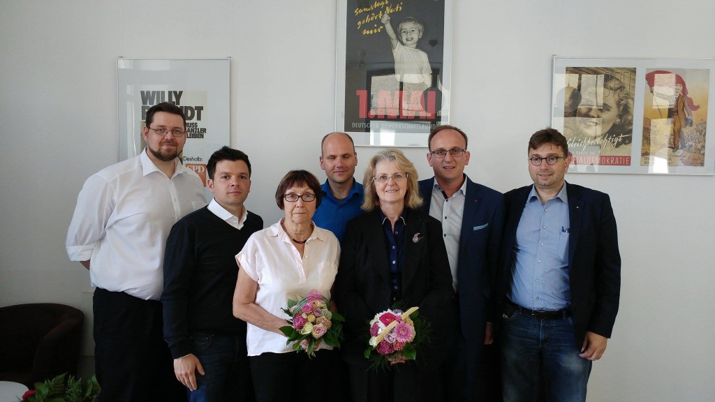 vl.: Falk Hammermüller (Chemnitz), André Soudah (Leipzig), Brigitte Bauerfeind (Leipzig), Heiko Bär (Leipzig) Annemarie Jach (Frankenberg), Jörg Vieweg (Chemnitz), Ron Eckhardt (Freital)