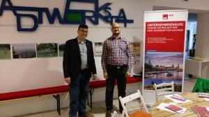 Ron Eckhardt (AGS Sachsen), Konrad Skatula (OV Kamenz)